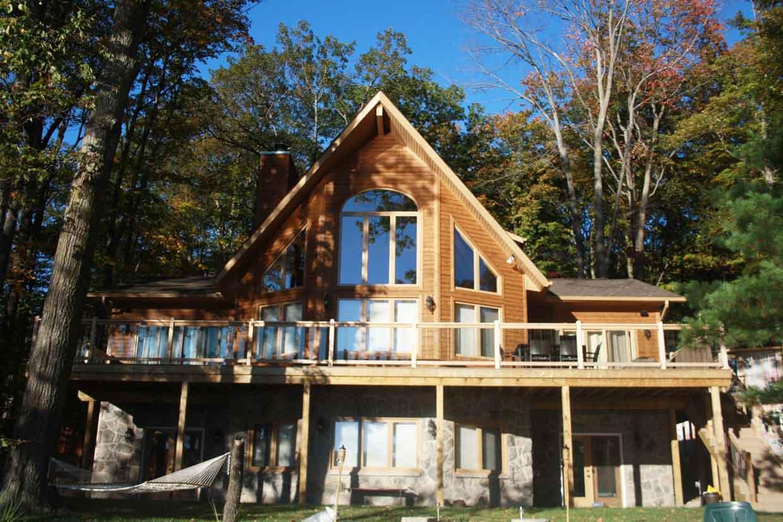 Muskoka Style Cottage Fairlain Lake Jvl Homes
